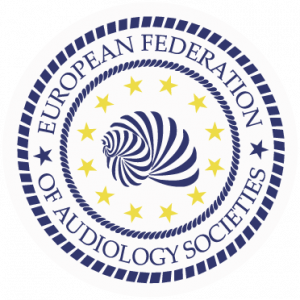 logo for European Federation of Audiology Societies