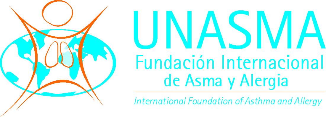 logo for UNASMA - Fundación Internacional de Asma y Alergias