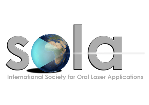 logo for International Society for Oral Laser Applications