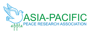logo for Asia Pacific Peace Research Association