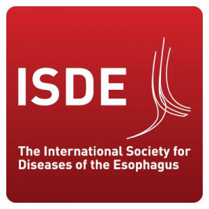 logo for International Society for Diseases of the Esophagus