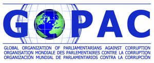 logo for Global Organization of Parliamentarians Against Corruption