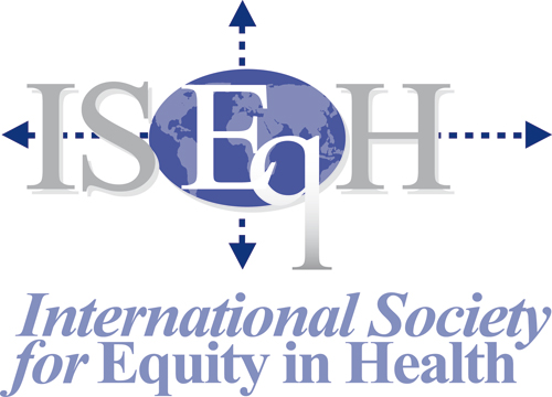 logo for International Society for Equity in Health