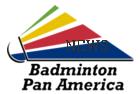 logo for Confederación Panamericana de Badminton