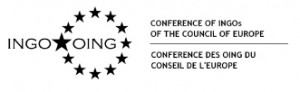 logo for Conference of INGOs of the Council of Europe