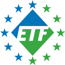 logo for European Transport Workers' Federation