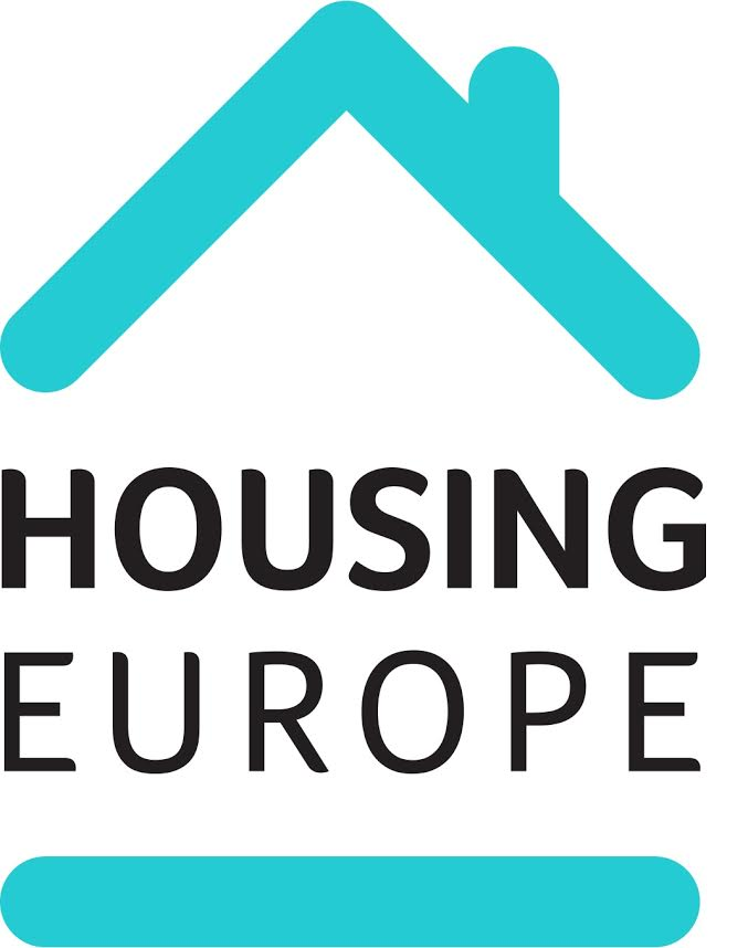 logo for Housing Europe - The European Federation for Public Cooperative and Social Housing