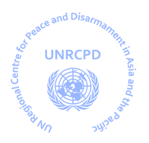 logo for United Nations Regional Centre for Peace and Disarmament for Asia and the Pacific