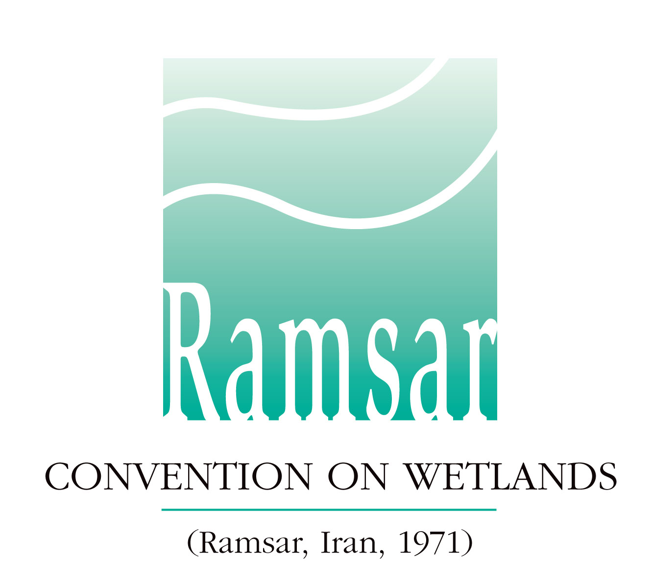 logo for Secretariat of the Convention of Wetlands