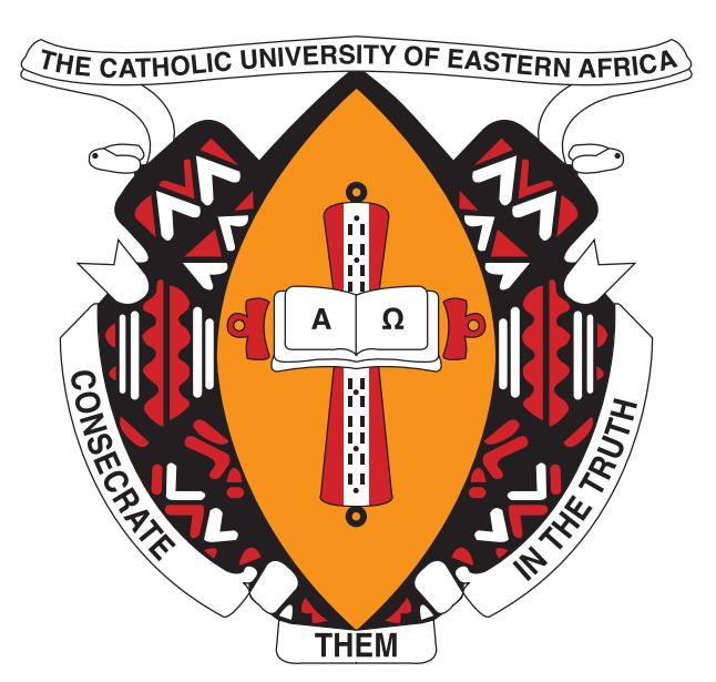 logo for Catholic University of Eastern Africa, The