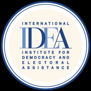 logo for International Institute for Democracy and Electoral Assistance