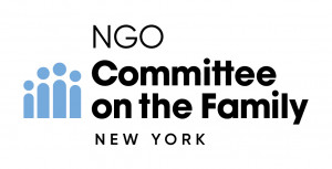 logo for NGO Committee on the Family, New York NY