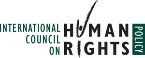 logo for International Council on Human Rights Policy