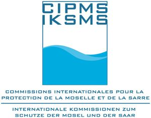 logo for International Commissions for the Protection of the Moselle and Saar
