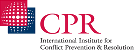 logo for International Institute for Conflict Prevention and Resolution