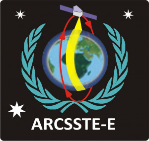logo for African Regional Centre for Space Science and Technology Education - English