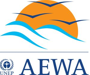 logo for Permanent Secretariat to the Agreement on the Conservation of African-Eurasian Migratory Waterbirds