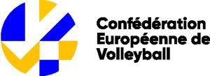 logo for European Volleyball Confederation