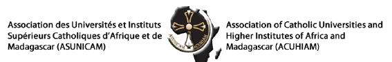 logo for Association of Catholic Universities and Higher Institutes of Africa and Madagascar