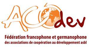 logo for Fédération francophone et germanophone des associations de coopération au développement