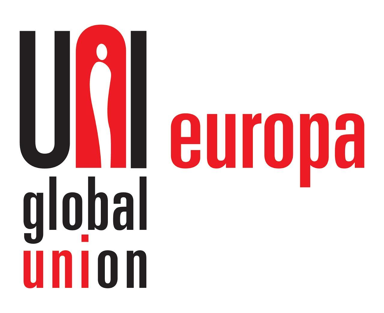 logo for UNI Global Union - Europa
