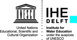 logo for IHE Delft Institute for Water Education