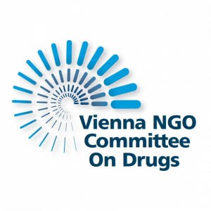 logo for Vienna NGO Committee on Drugs