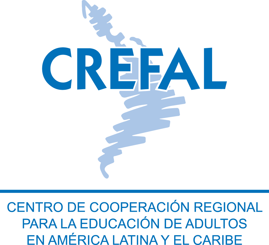 logo for Centro de Cooperación Regional para la Educación de Adultos en América Latina y el Caribe