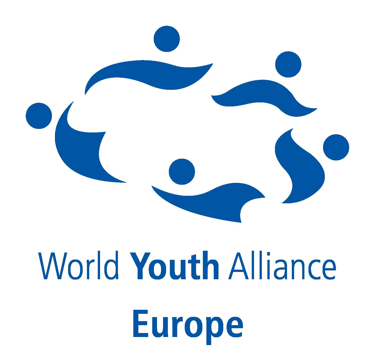 logo for World Youth Alliance - Europe