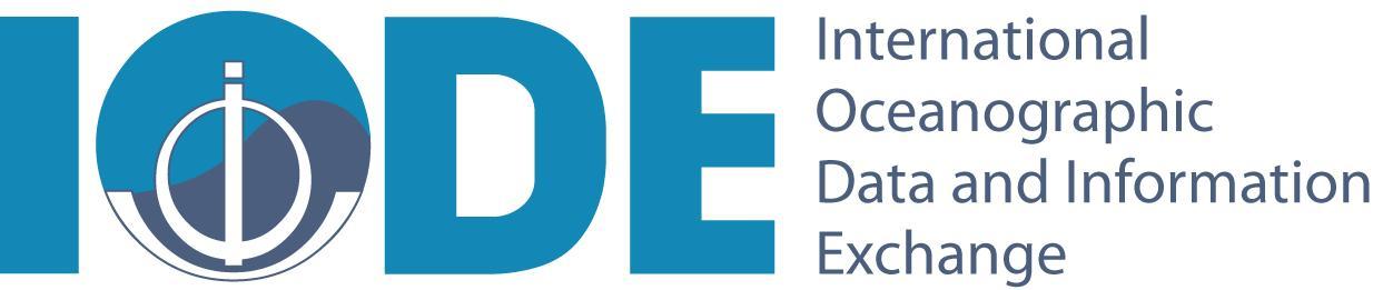 logo for International Oceanographic Data and Information Exchange