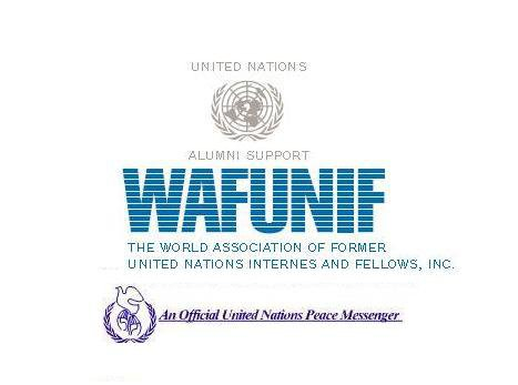 logo for World Association of Former United Nations Internes and Fellows