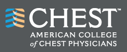 logo for American College of Chest Physicians
