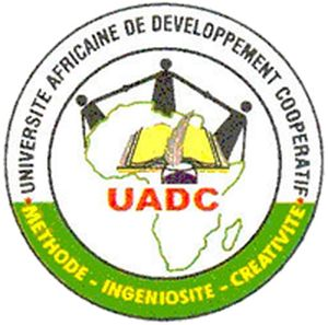 logo for African University for Cooperative Development