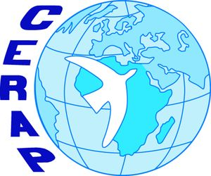 logo for Center of Research and Action for Peace