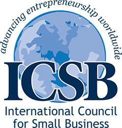 logo for International Council for Small Business