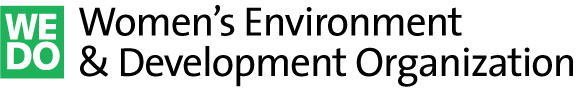 logo for Women's Environment and Development Organization
