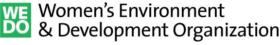 logo for Women's Environment and Development Organization