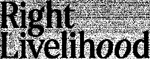 logo for Right Livelihood Award Foundation