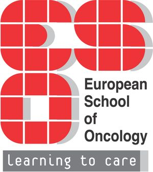 logo for European School of Oncology