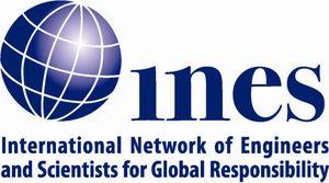 logo for International Network of Engineers and Scientists for Global Responsibility