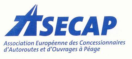 logo for Association Européenne des Concessionnaires d'Autoroutes et d'Ouvrages à Péage