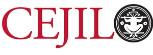 logo for Center for Justice and International Law