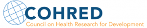 logo for Council on Health Research for Development