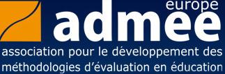 logo for Association pour le développement des méthodologies d'évaluation en éducation