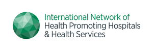 logo for International Network of Health Promoting Hospitals and Health Services
