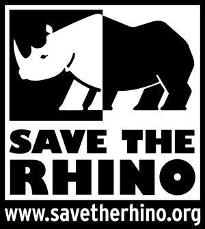 logo for Save the Rhino International