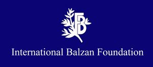 logo for International E Balzan Prize Foundation