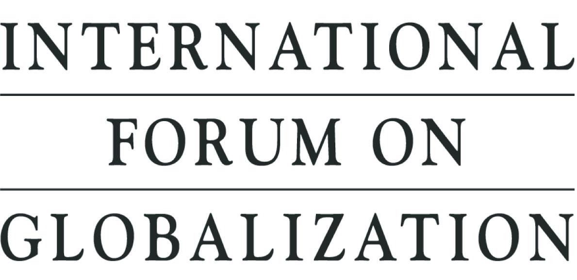 logo for International Forum on Globalization