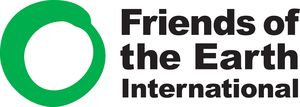 logo for Friends of the Earth International