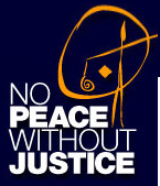 logo for No Peace Without Justice